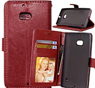 PU cuir carte portefeuille titulaire de luxe reposer le couvercle rabattable avec étui de cadre photo pour Nokia Lumia 930 (couleurs