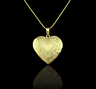 Pendants Metal Heart Shape As Picture 1