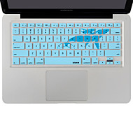 XSKN teclado delfín de silicona cubierta de piel de pro para el aire del macbook 13, MacBook Pro con retina 13 15 17, nosotros diseño