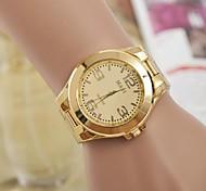 Montre femme europe et aux états-unis mode chaud montres montre à quartz et d'acier de la plaque d'alliage suisse