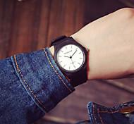 Masculino Relógio de Moda Quartz Silicone Banda marca-