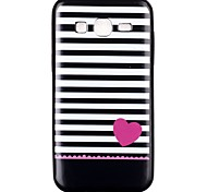 Stripe TPU Material Cell Phone Case for Samsung GALAXY G360/J1/J2/G5308/9082/