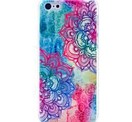 schöne Mandala Blumenmuster hard cover für iphone 5c