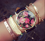 Vintage Rose Flowers Watches For Women,Womens Watches,Retro Women Watches,Gifts For Her,Birthday Gift Cool Watches Unique Watches Fashion Watch
