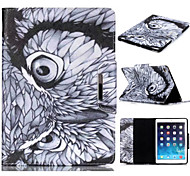 Novelty Cartoon Magnetic Buckle PU Leather Folio Case Shockproof Case for iPad Air 2