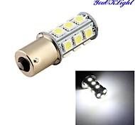 youoklight® 1pcs 3w 260lm 18 x 5050 SMD llevó la lámpara de la luz de señal del coche / de dirección blanco - (DC12V)
