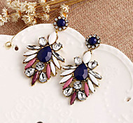 Top Sale Bohemia Vintage Wholesale Women Alloy Zircon Geometric Drop Earring