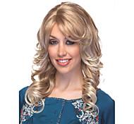 explosión de la rubia peluca de la venta de onda suelta a Eurepean pelucas de pelo syntheic extesions populares