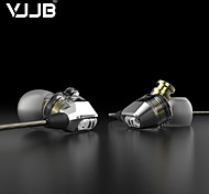 VJJB V1 HIFI In-Ear Earphones Double Moving Coil