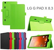 Protective Tablet Cases Leather Cases Bracket Holster for LG G pad X 8.3