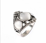 Craft Ring Flowers Drip Alloy Ring Bulgaria Jewelry