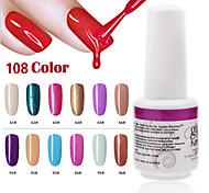 1PCS 9ml UV Color Gel Phototherapy Glue Nail Polish 61#-66#  91#-96#