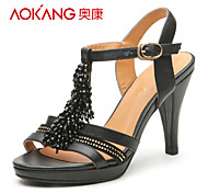 Aokang® Women's Leather Sandals - 132811409