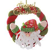 """8 """"grinalda do natal papai noel pendurado xmas decoração da árvore alegre"""