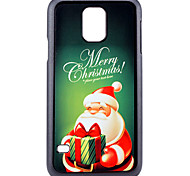 Christmas Santa Claus and Gift Pattern PC Hard Back Cover Case for Samsung Galaxy S5