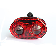 3-LED Bicycle Rear/Tail Light Cycling Warning Light