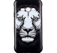 Lion Pattern TPU Phone Case for Galaxy J2/Galaxy J1 Ace