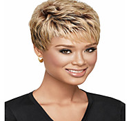 European  Lady Women Short Elegant  Syntheic  Wave  Wigs Hot Selling
