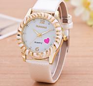 Woman Sweet Heart Casual Wrist  Watch