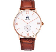 AIBI® Men's Fashion Watch Water Resistant/Water Proof Rose Golden Light Coffee Gift Watch For Men Wrist Watch Cool Watch Unique Watch With Watch Box