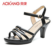 Aokang® Women's Leather Sandals - 132812072