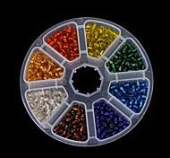 1 Box/135g Beads - di vetro