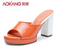 PU sandales femmes aokang® - 132811187