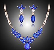Кристалл бижутерия Свисающие Серьги Цепочка Назначение Для вечеринок Свадебные подарки