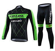 KEIYUEM Cycling Tops / Clothing Sets/Suits / Jerseys Unisex BikeWaterproof / Breathable / Insulated / Quick Dry / Rain-Proof / Dust Proof