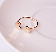 Hot Sales Women's Rose Gold Plated Open Ring Gift Jewelry