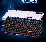 rajfoo Überqueren der Suspension emittierende Gaming-Tastatur