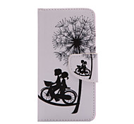 Bike Lovers Pattern PU Leather Full Body Cover with Stand for iPhone5c