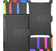 TPU + PC híbrida armadura de caucho resistente soportar casos de tapa dura para ipad aire 2