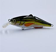 Hot 4 Inch 14.5 G Top Water Hard Body 2 Segments Swim Bait Crank Bait for Bass Fishing