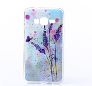 Para Funda Samsung Galaxy Diseños Funda Cubierta Trasera Funda Flor TPU Samsung J7 / J2 / J1 / E7