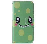 Cartoons Smiley Cell Phone Leather For Samsung Galaxy Note5