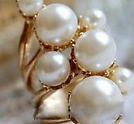 Retro Pearl Alloy Fashion Lady Ring