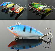 Anmuka  8Color Fishing Sinking VIB Lure Vibration Rattle Hook Crankbait Baits 6g  5cm  Free Shipping