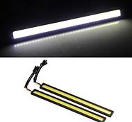 2*2W COB LED Daytime Running Lamp Light DRL Car Truck Driving White Yellow