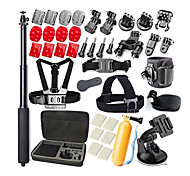 Gopro Accessories 31-in-1 Gopro Accessory Kit Bundle for GoPro HERO4 Session Gopro Hero 4 Gopro 3+ 3 2 1