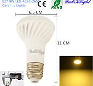 9W E26/E27 LED Spot Lampen A50 18 SMD 5730 800 lm Warmes Weiß Dekorativ AC 85-265 V 1 Stück