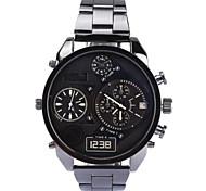 Men's Fashion Military Watch Military  Movement Quartz Steel Watch Wristwatches