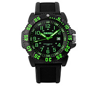 Skmei® Men's Fashion Multifunction Alloy Watch 50m Waterproof Assorted Colors Cool Watch Unique Watch