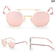 Sunglasses Men / Women / Unisex's Modern / Fashion Oval Silver / Gold Sunglasses Full-Rim