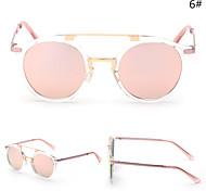 Gafas de Sol hombres / mujeres / Unisex's Modern / Moda Ovalada Plata / Dorado Gafas de Sol Completo llanta