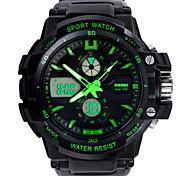 SKM 0990 многофункциональные спортивные часы открытый спортивный водонепроницаемые часы для мужчин