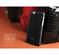 SBPRC Knight Snake pattern  Import PU PC Back Case for Apple Iphone6S Plus