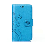 Solid Pattern PU Phone Case for Sony Xperia Z5