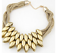 European Style Fashion Collar Short Necklace