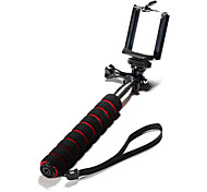 Self-portrait Handheld Monopod For Telephone Cellphone Smart Phone Gopro Camera DSLR with Long Thumb Knob